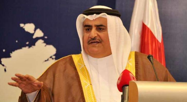 وزير الخارجية البحريني الشيخ خالد بن احمد آل خليفة