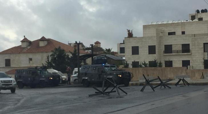 تعزيزات امنية بمحيط السفارة الامريكية