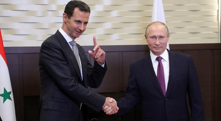 لرئيس بوتين يلتقى بشار الأسد في سوتشي