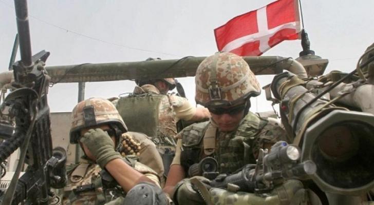 قوات دنماركية - ارشيفية