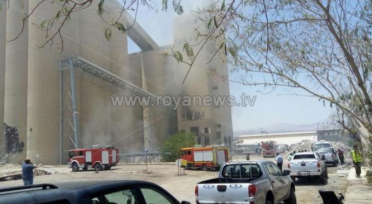 صورة موقع الحريق