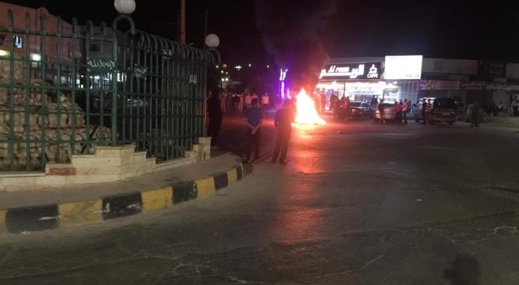 احتجاجات في اربد
