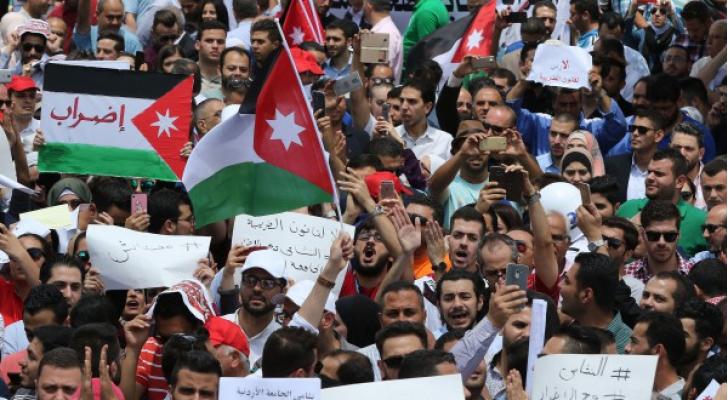 صورة من اضراب الاربعاء الماضي