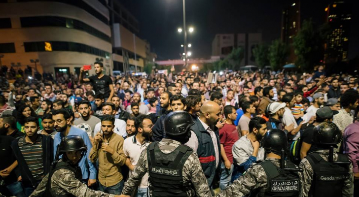 صورة من احتجاجات السبت على الدوار الرابع