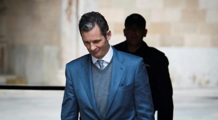 دخول صهر العاهل الاسباني السجن بعد الحكم عليه بتهمة اختلاس اموال