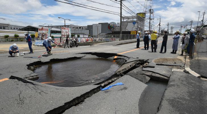 زلزال قوي يضرب اليابان