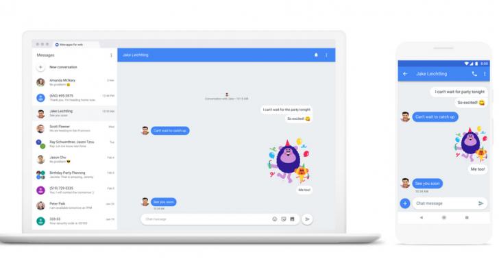 جوجل تطلق نسخة ويب من تطبيق الرسائل لمستخدمي أندرويد
