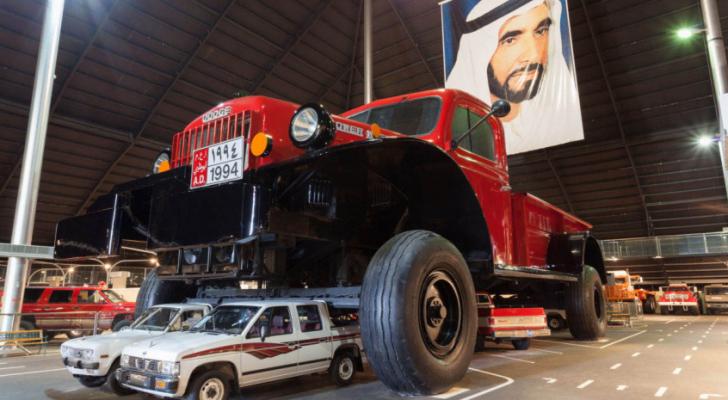 يعتبر حجم هذه الشاحنة من حجم نفوذ المملكة الحاكمة في البلاد