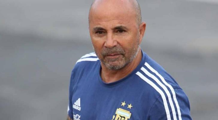 مدرب المنتخب الأرجنتيني خورخي سامباولي