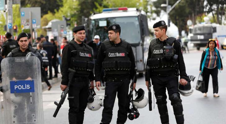 عناصر من الشرطة التركية - ارشيفية