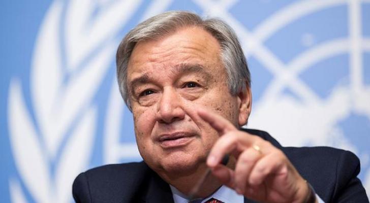 أمين عام الأمم المتحدة، انطونيو غوتيريس