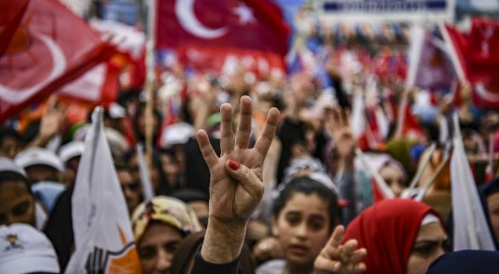 جانب من الانتخابات التركية
