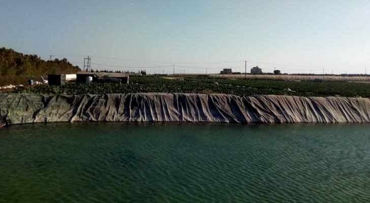 المياه تضبط اعتداء كبير على أحد الخطوط الناقلة جنوب عمان