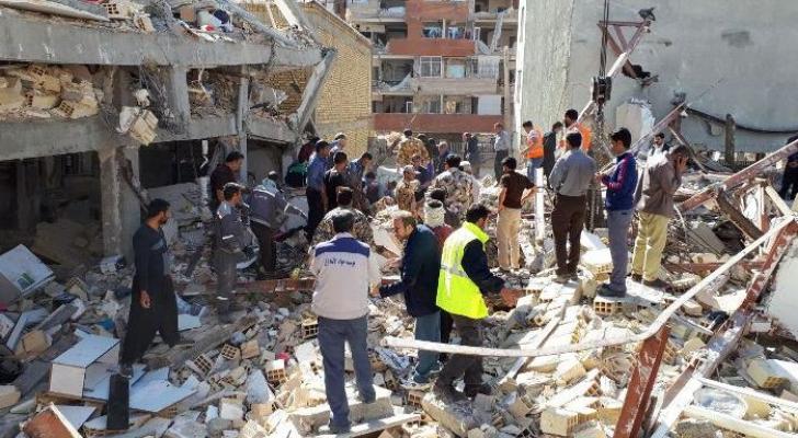 زلزال في ايران - ارشيفية