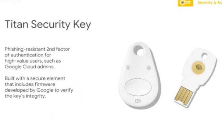 جوجل تعلن عن مفاتيح Titan لتعزيز الأمان على الانترنت