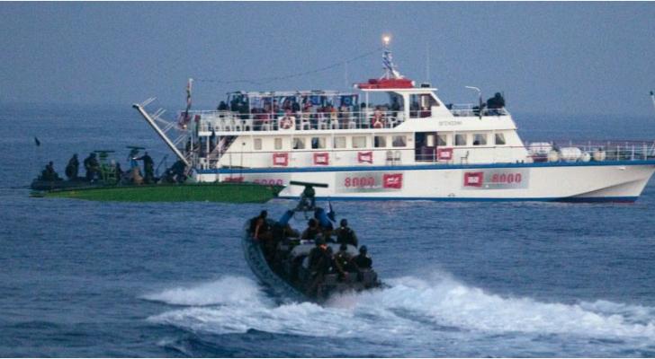 """""""فلسطين النيابية"""" تدين سطو قوات الاحتلال على سفن شريان الحياة"""