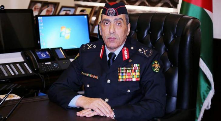 مدير الأمن العام اللواء فاضل الحمود