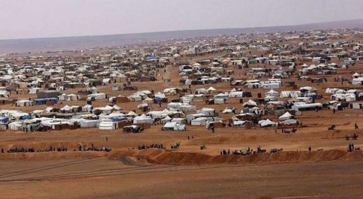 مخيم للاجئين في الركبان - ارشيفية