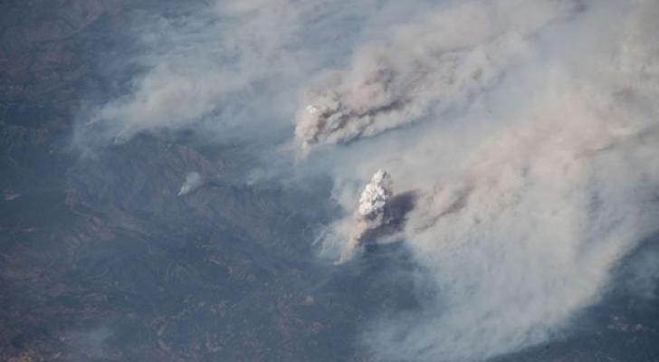 صور من الفضاء لحرائق كاليفورنيا المرعبة