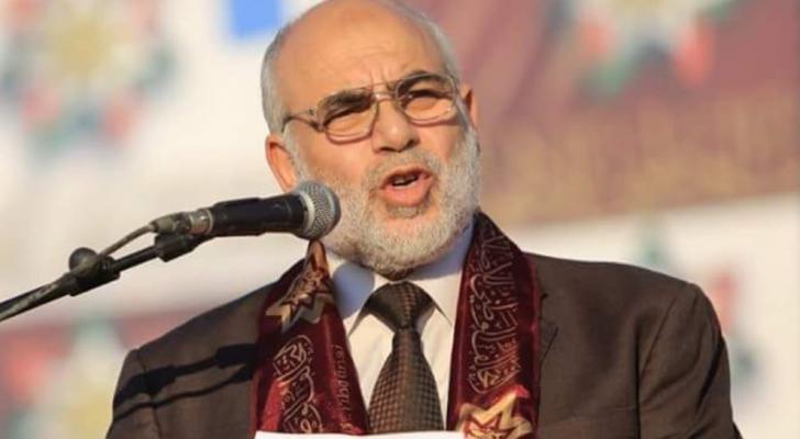 الاخوان المسلمين تنعى أمين عام حزب العمل الاسلامي محمد عواد الزيود