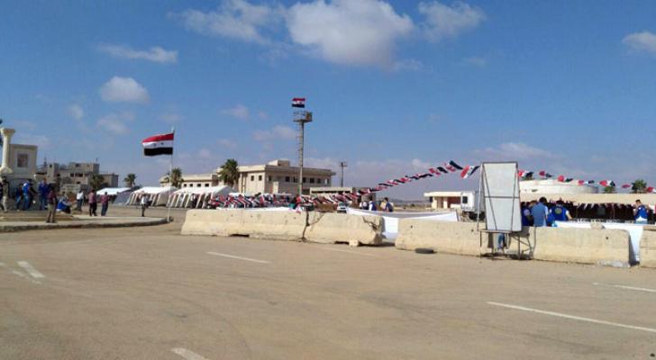 مركز نصيب يستعد لاستقبال السوريين العائدين