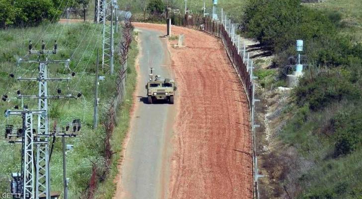دورية للجيش الإسرائيلي على الحدود اللبنانية- ارشيفية