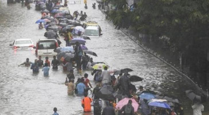 صورة من فيضانات الهند