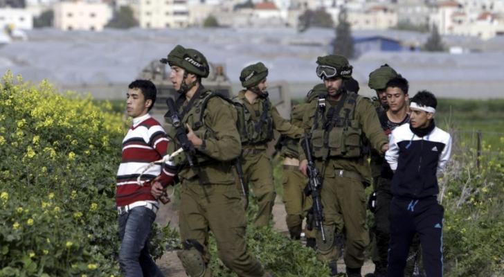 اعتقالات بالضفة الغربية المحتلة - ارشيفية