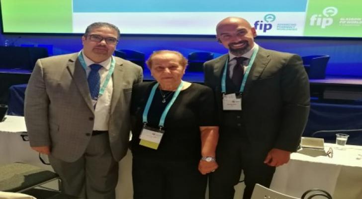 سميرة القسوس أول عربية نائب رئيس اتحاد الصيادلة العالمي