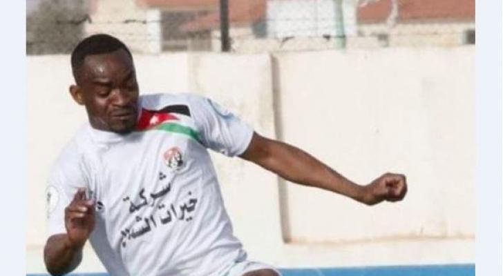 السنغالي مايكل توريه لاعب نادي شباب العقبة