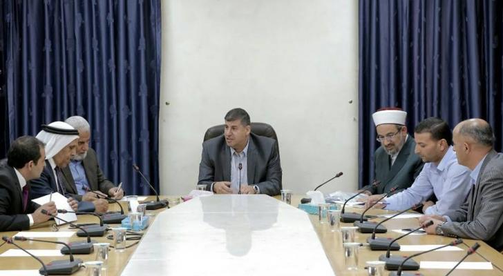 اجتماع لجنة التحرير  الفلسطينية
