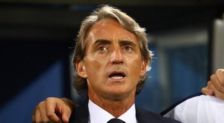 مدرب إيطاليا روبرتو مانشيني