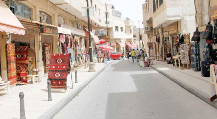 شارع السياحة في مادبا