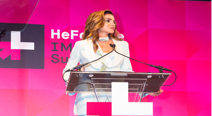 جلاالة الملكة رانيا العبدالله