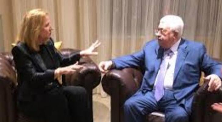 عباس يلتقي لفني