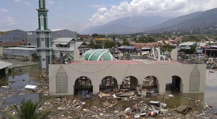 الصورة من الزلزال