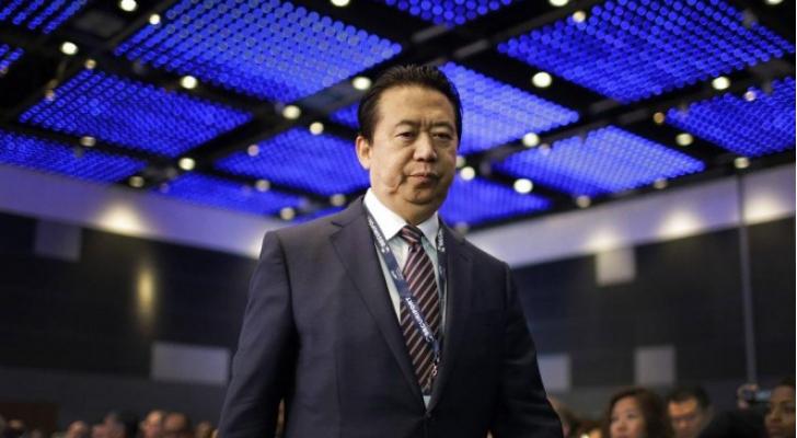 رئيس منظمة الانتربول مينغ هونغوي