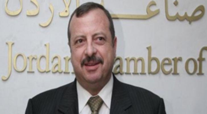 رئيس غرفة صناعة الأردن عدنان ابو الرغب