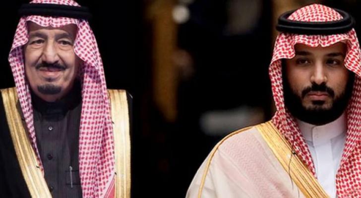 الملك سلمان وولي عهده يعزيان بحادثة البحر الميت رؤيا الإخباري