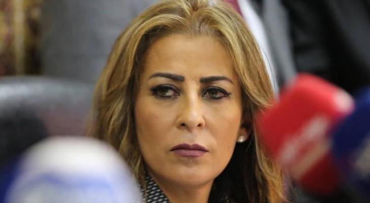 وزيرة الاعلام جمانة غنيمات