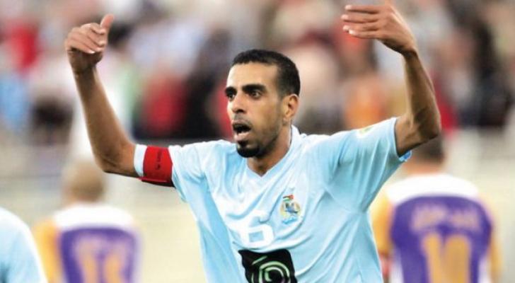 لاعب النادي الفيصلي السابق حسونة الشيخ