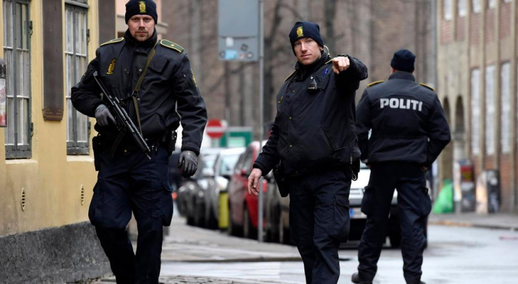 الشرطة الدنماركية - ارشيفية