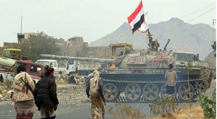 صورة من الحرب في اليمن - ارشيفية