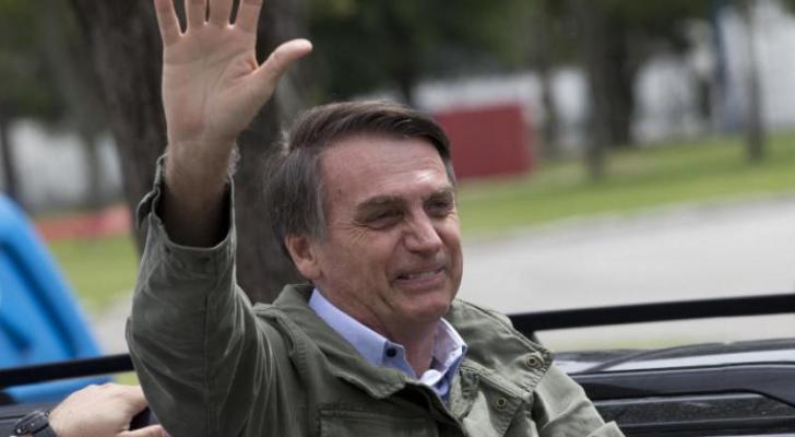 الرئيس البرازيلي المنتخب جاير بولسونارو