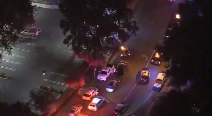 صورة من موقع الحادثة