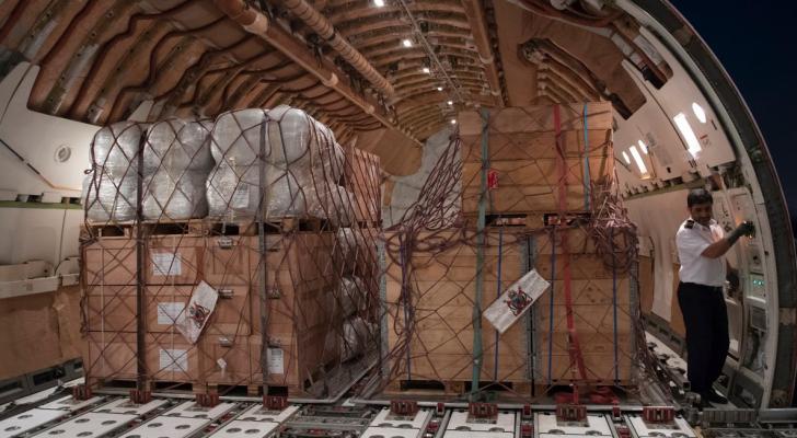 المساعدات التي قدمتها الامارات للأردن