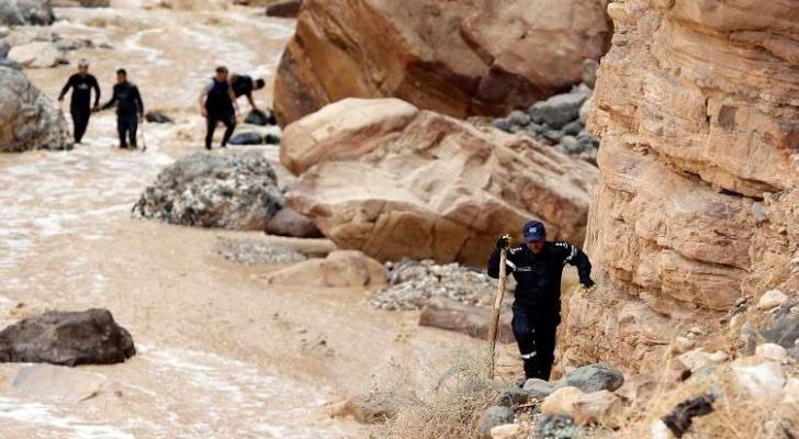 الصورة من عمليات البحث عن مفقودين