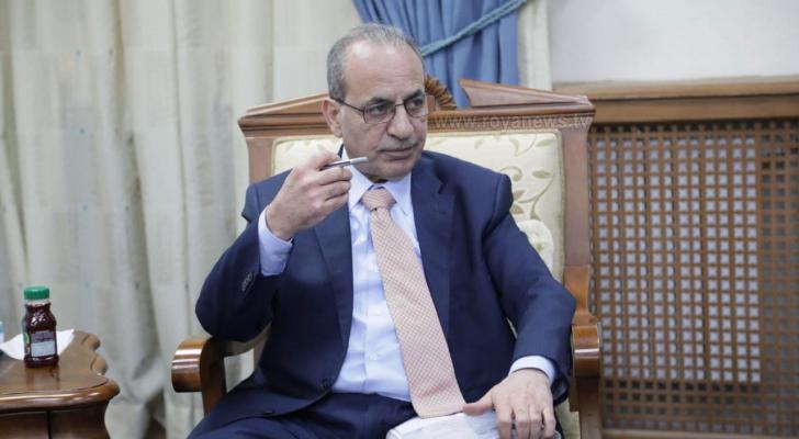 وزير النقل المهندس وليد المصري