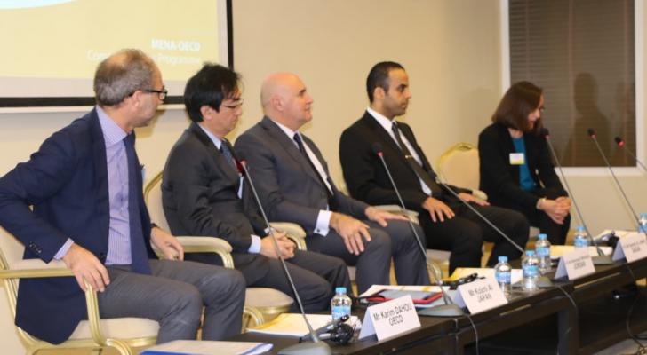 شحاده يفتتح أعمال الاجتماع السنوي لفريق عمل منظمة الاقتصاد والتعاون الدولية