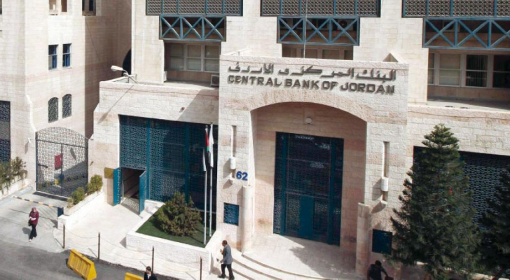 مبنى البنك المركزي الاردني